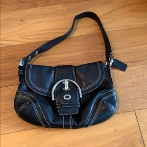 Black Coach Hobo Bag